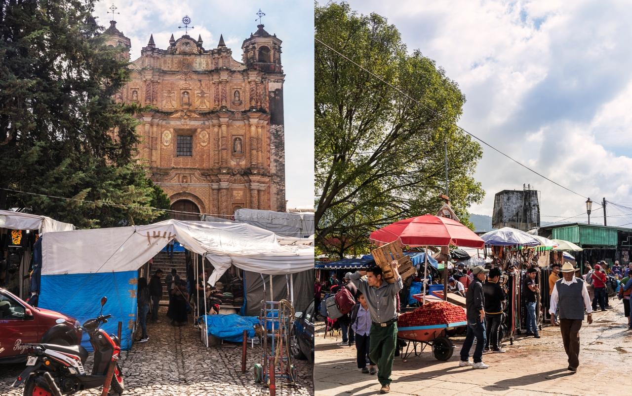 Los Mercados de San Cristóbal de lascasas.